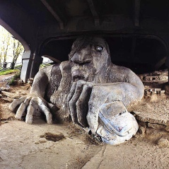 Seattle Bridge Troll